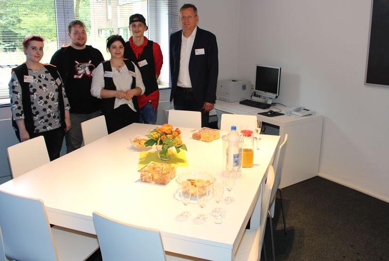 Teilnehmervertretung Des Kolping-Berufsbildungswerkes Essen Nun Mit Eigenem Büro