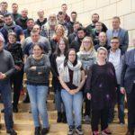Teilnehmer/-innen Des Kolping-Berufsbildungswerkes Essen Besuchten Frank Müller (MdL, SPD)  Im Landtag NRW