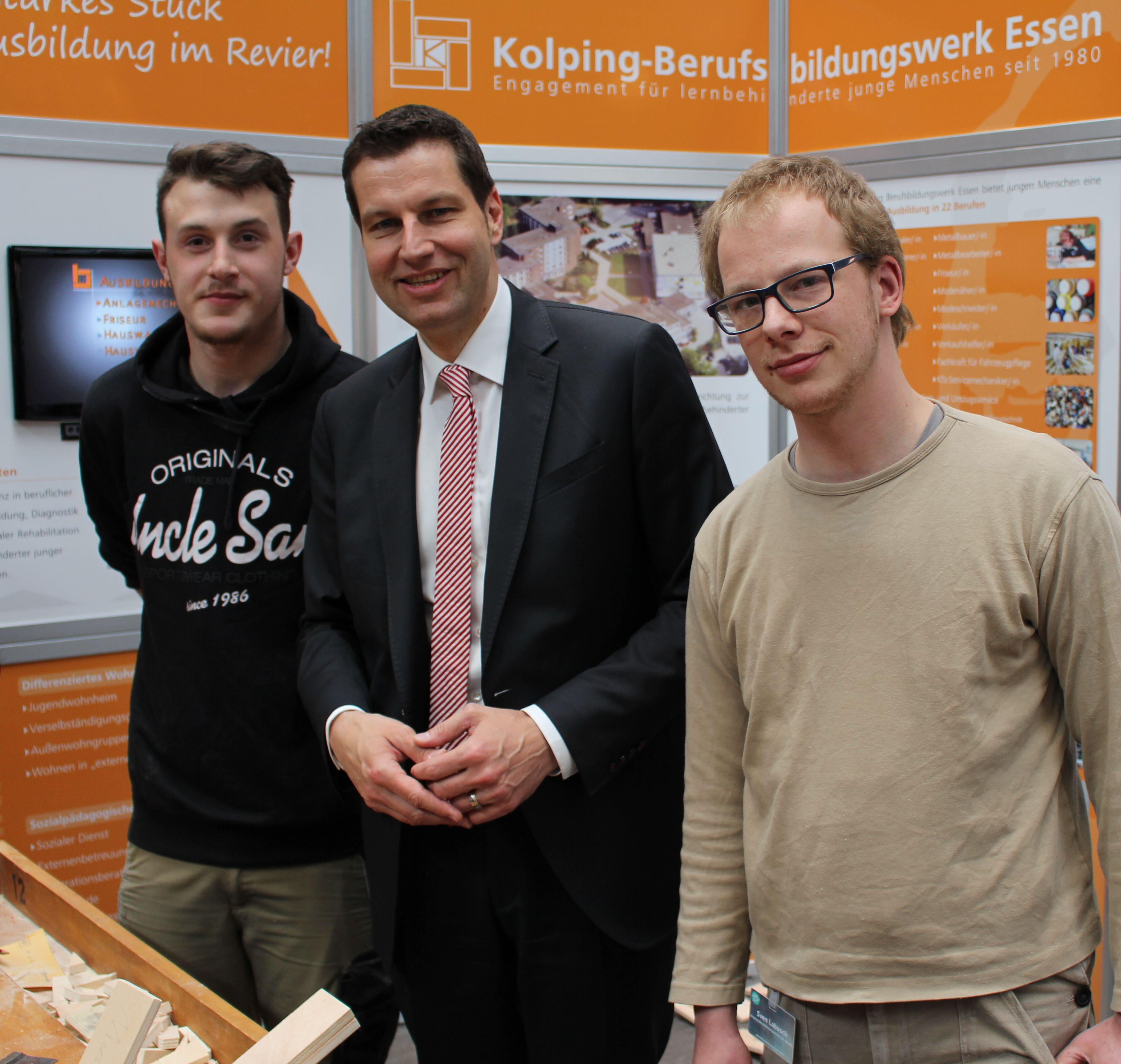 Kolping-Berufsbildungswerk Essen Auf Berufsinformationsmesse Am 4.-5. Mai 2018 In Bochum Vertreten