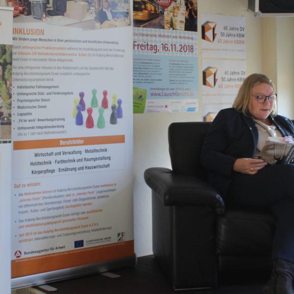 LauschGericht – Kolping-Berufsbildungswerk Essen Beteiligte Sich Am Bundesweiten Vorlesetag Mit Einer Literarischen Mahlzeit
